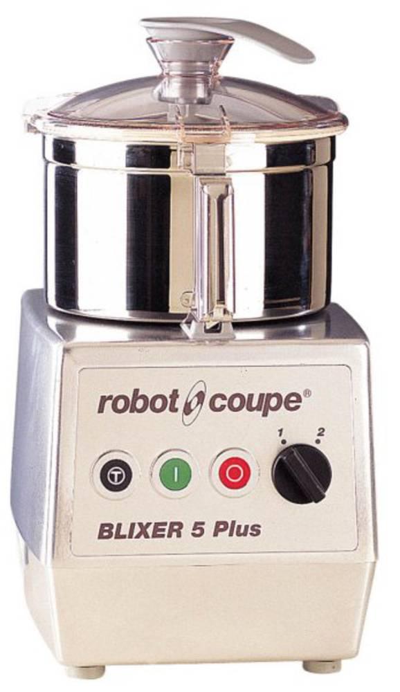 Stolní BLIXER 5 A PLUS, 400V 2 RYCHLOSTI (Mixér do kuchyně, Robot Coupe)