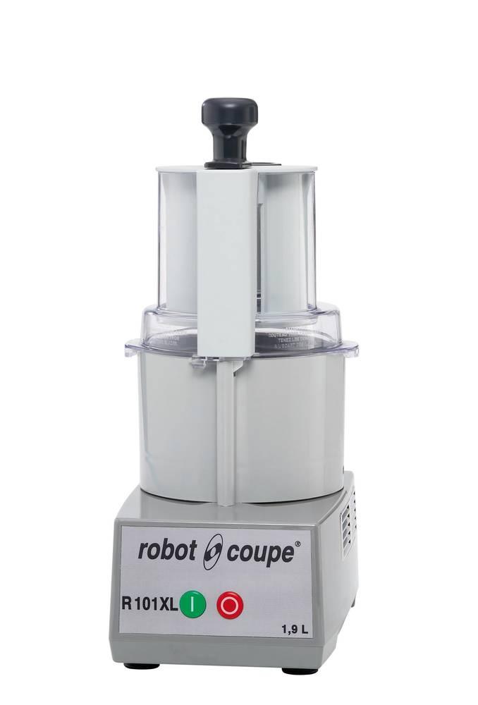 ROBOT KOMBINOVANÝ R 101 XL - KROUHAČ/KUTR, VČ. 2 DISKŮ 27555+27577 (KROUHAČ ZELENINY , Robot Coupe)